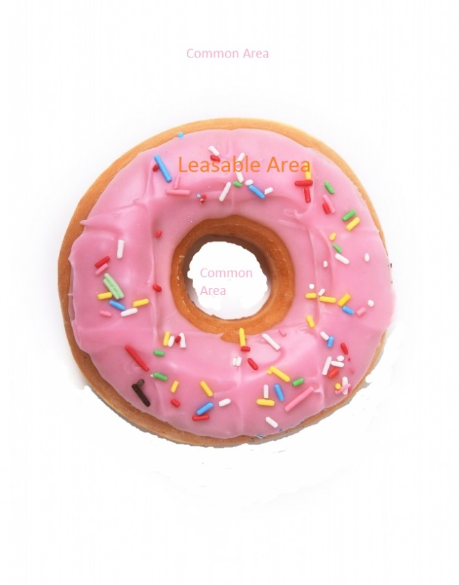 pink-donut-plate-white-background-29284730